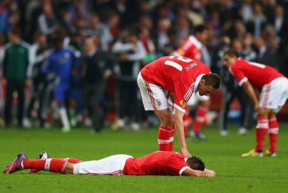 Mientras tanto, las 'Águilas' portuguesas mostraban su decepci&oa...