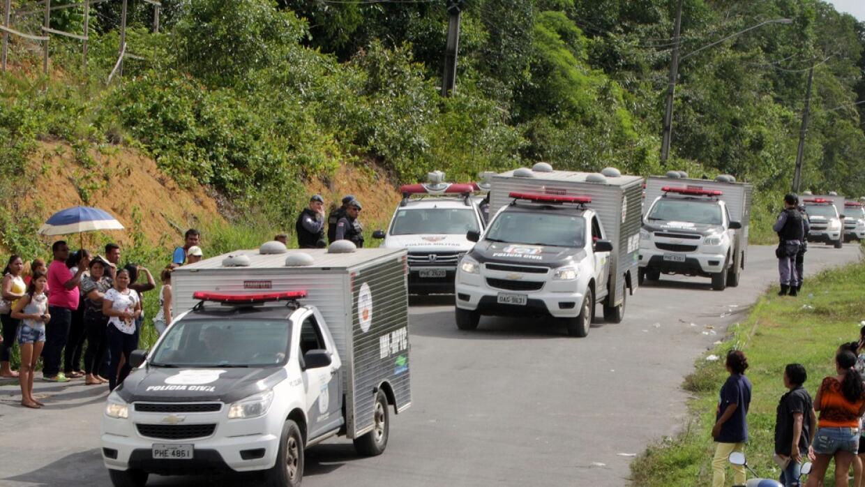 MUNDO   Brasil: 4 muertos en nueva rebelión en otra cárcel de Manaos