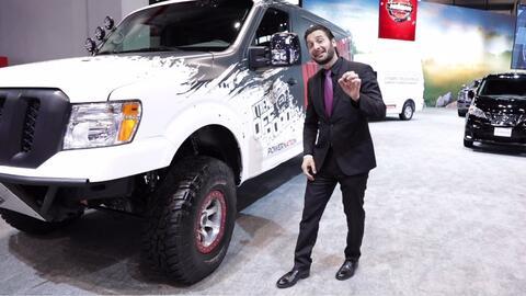 Nissan presenta una versión extrema para off-road de su NV Cargo
