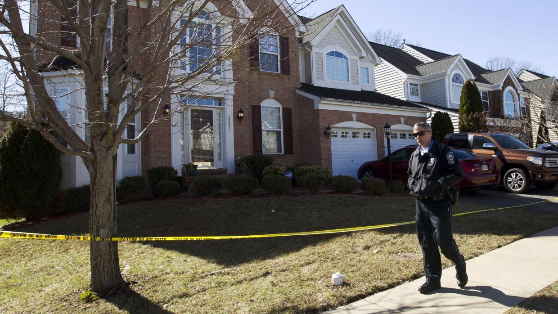 La casa donde ocurrió el fatal tiroteo