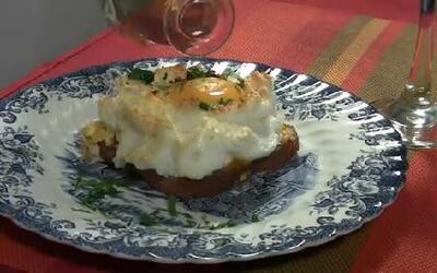 Una nueva forma de hacer 'nube de huevo'