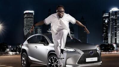 El cantante Will.I.Am se juntó con Lexus para crear una edición especial...
