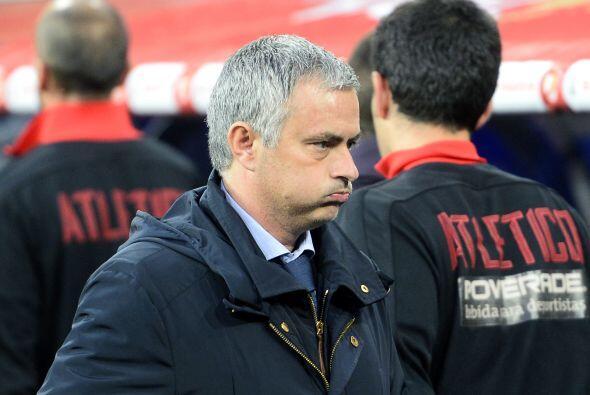 Tras el silbatazo del medio tiempo, Mourinho sabía que su equipo...