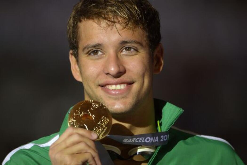El sudafricano Chad Le Clos se convirtió en el campeón mundial de los 20...