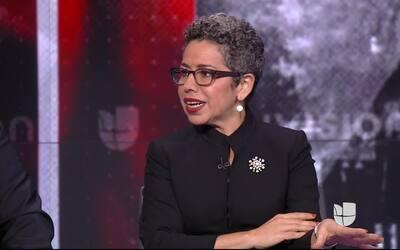 """Clarissa Martínez: """"VOICE es una creación que busca satanizar a los inmi..."""