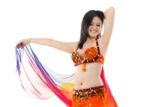 ¡La danza árabe es ideal para mantener tu cuerpo saludable...