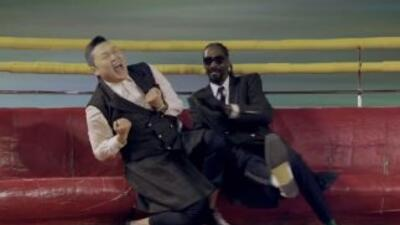 """Psy and Snoop Dogg """"Hangover"""""""