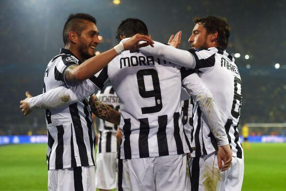 En otro escenario, el Juventus goleó como visitante al Borussia D...