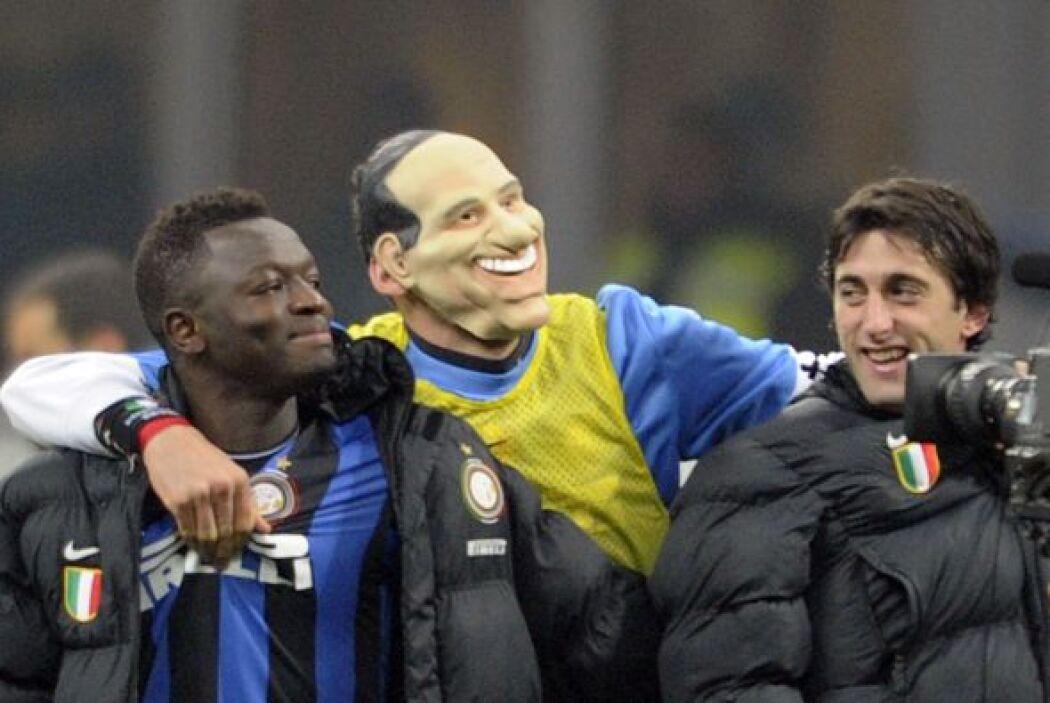 Luego del triunfo de Inter de Milan sobre el Milan, Materazzi se colocó...
