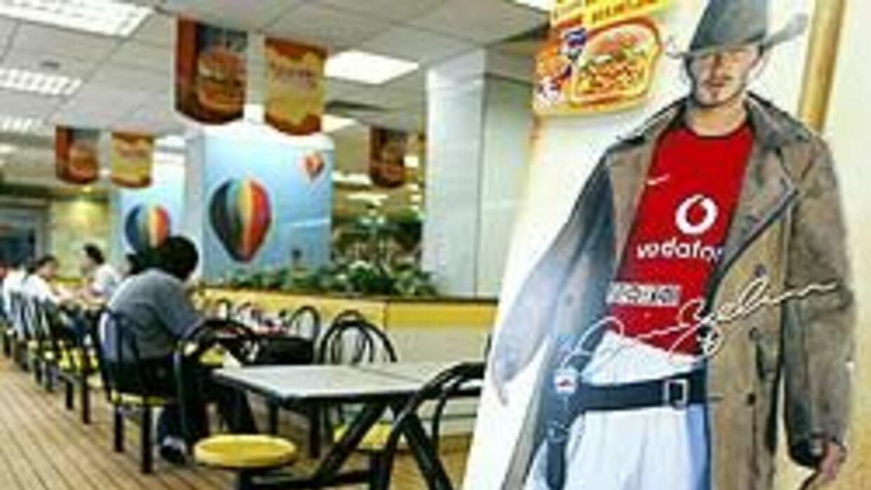 La figura de David Beckham ha sido explotada en múltiples comerciales y...