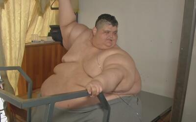 El joven considerado como el más obeso del mundo perdió 376 libras y ya...