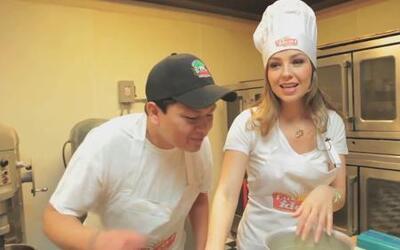 ¡Thalía dejó al lado la música para convertirse en panadera!