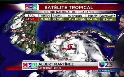 El tiempo: huracán Earl