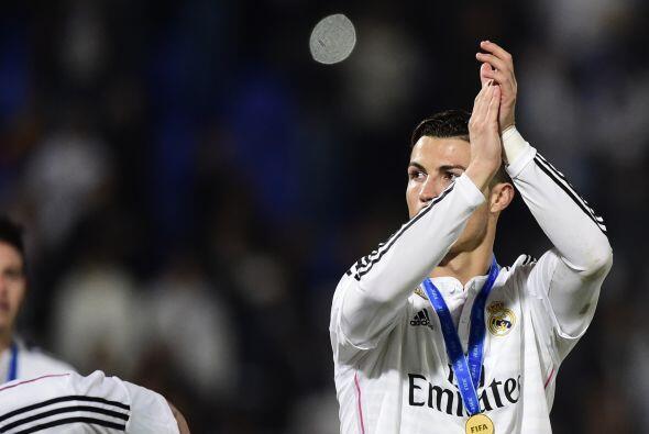 Cristiano agradecía a las tribunas en Marruecos.