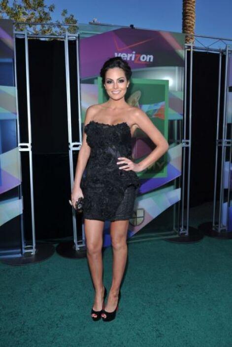 La ex Miss Universo Ximena Navarrete también usó esa pose.