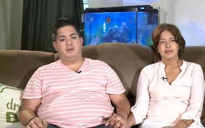 Miguel Carrasquillo y su madre abogan por una ley que permita la muerte...