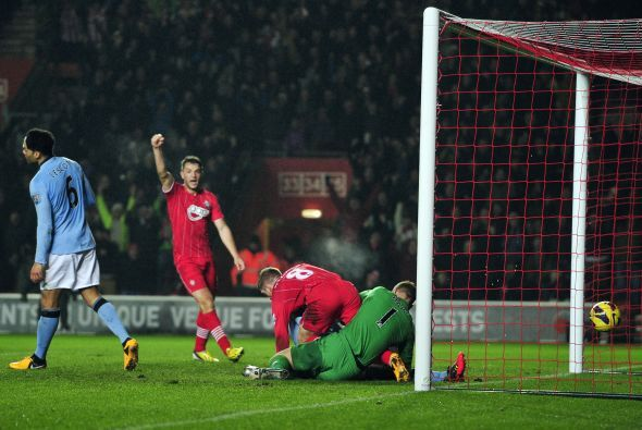 El Southampton comenzaba a ver la sorpresa posible.