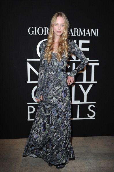 La guapa Tanya Dziahileva, quien ha participado en pasarelas de Prada, A...
