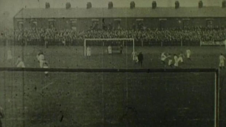 Descubren la que puede ser la primera grabación de un partido de fútbol....