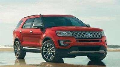 La Explorer ha sido la SUV más vendida en Norte América con más de 7 mil...