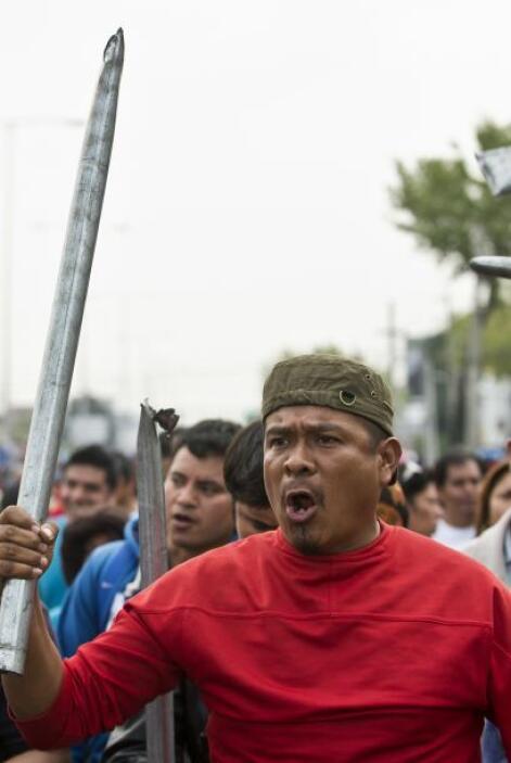 Otras movilizaciones se llevan a cabo en diversos estados del país e inc...