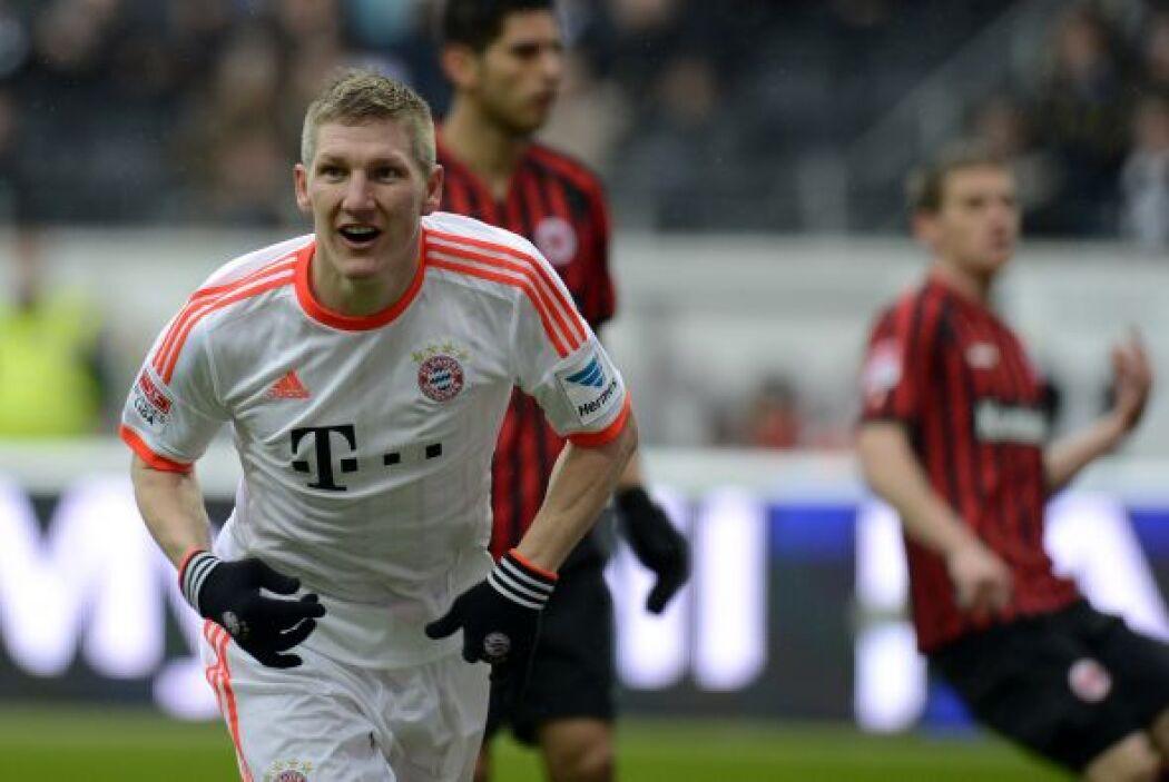 Bastian Schweinsteiger fue el autor del gol del título para Bayern.