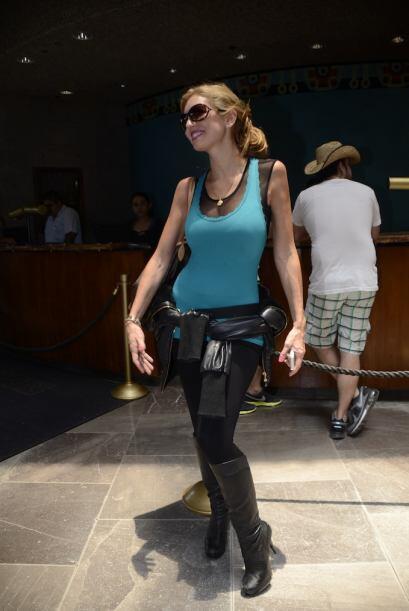La modelo y actriz Isabel Madow no se podía perder la entrega de...