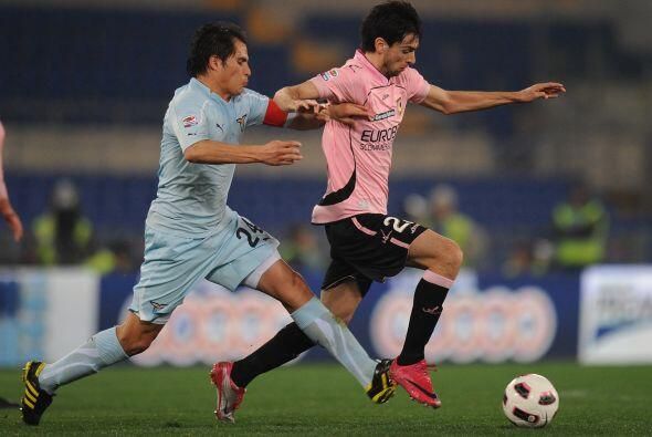 Esto fue suficiente para que la Lazio venciera por 2-0 al Palermo.