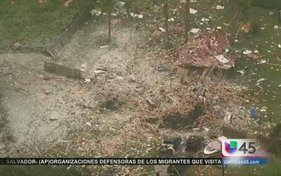 Explotó una casa en Willis, Texas