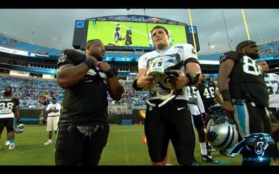 Carolina Panthers podría jugar con todos sus titulares ante New England...