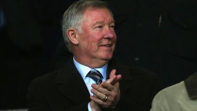 Sir Alex Ferguson asistió a ver al equipo que dejó campe&o...