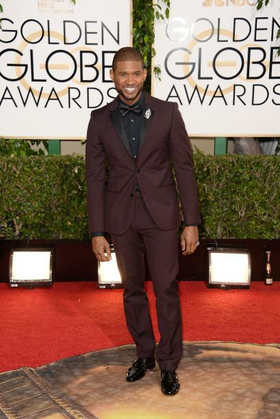 Usher fue el único que desentonó con los demás. &Ea...