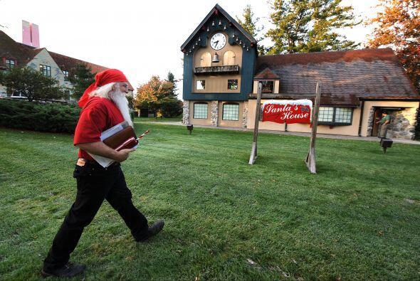 Va a la escuela de Papá Noel.