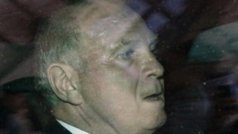 El presidente del Bayern, Uli Hoeness.