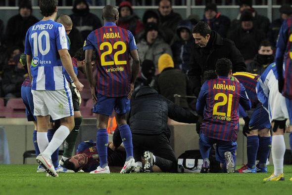 La nota negativa fue la lesión de Sergio Busquets.