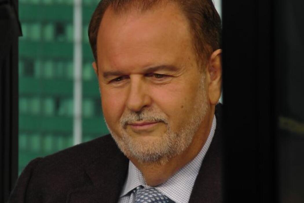 """El """"Gordo"""" estuvo muy atento a la transmisión del programa en Miami, Los..."""