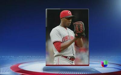 Aroldis Chapman, de los Rojos de Cincinnati, encara demanda
