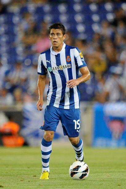 Moreno fue amonestado con el Espanyol y resultó con amarilla, el...