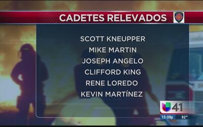 Continúa caso de cadetes relevados