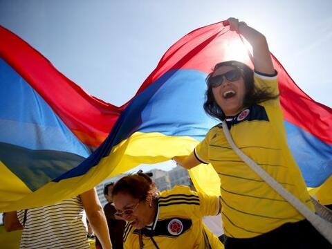 Colombia ganó desde lo anímico con el apoyo del púb...