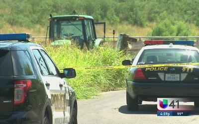 Cadáver de hispano es atropellado por un tractor