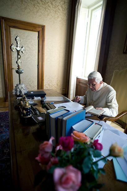 """Aquí es donde comenzó a preparar la tercera parte de su libro """"Jesús de..."""