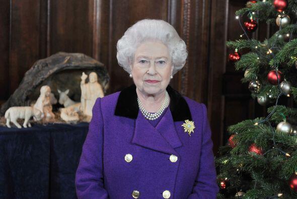 En el sexto lugar quedó la Reina Isabel II de Inglaterra, una figura emb...