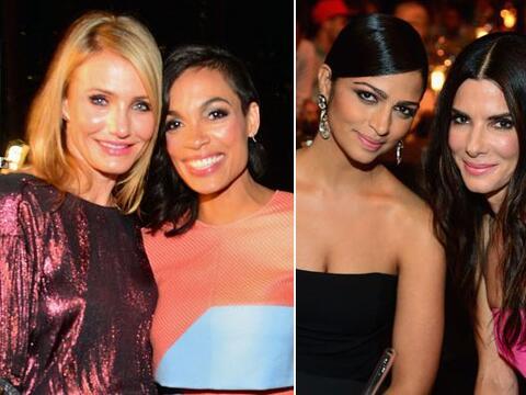 Muchas estrellas de Hollywood dijeron presente para una gran noche de &q...
