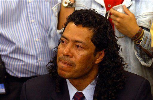 René Higuita purgó una condena de seis meses en junio de 1...