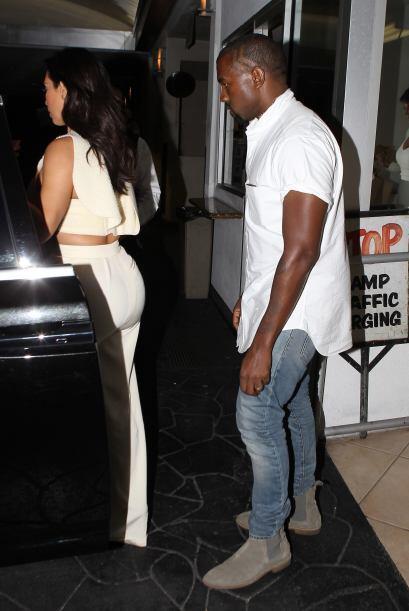 Aunque a Kim le encanta vestir en blanco. Antes de su boda estaba obsesi...