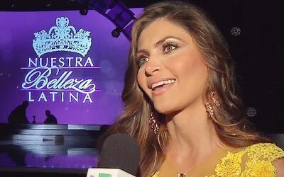 Chiqui Delgado se ve reflejada en las chicas de Nuestra Belleza Latina