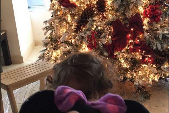 Jacqueline Bracamontes compartió en sus redes sociales la foto de su árb...