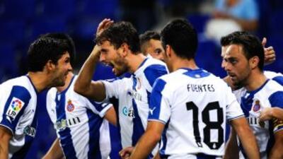 El solitario gol de los 'Periquitos' cayó tras una polémica jugada de la...