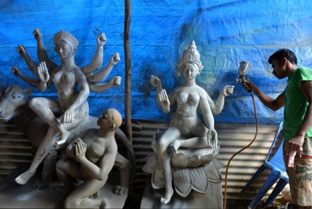 El festival Dasara se celebra en la ocasión del Navaratri, y en este día...